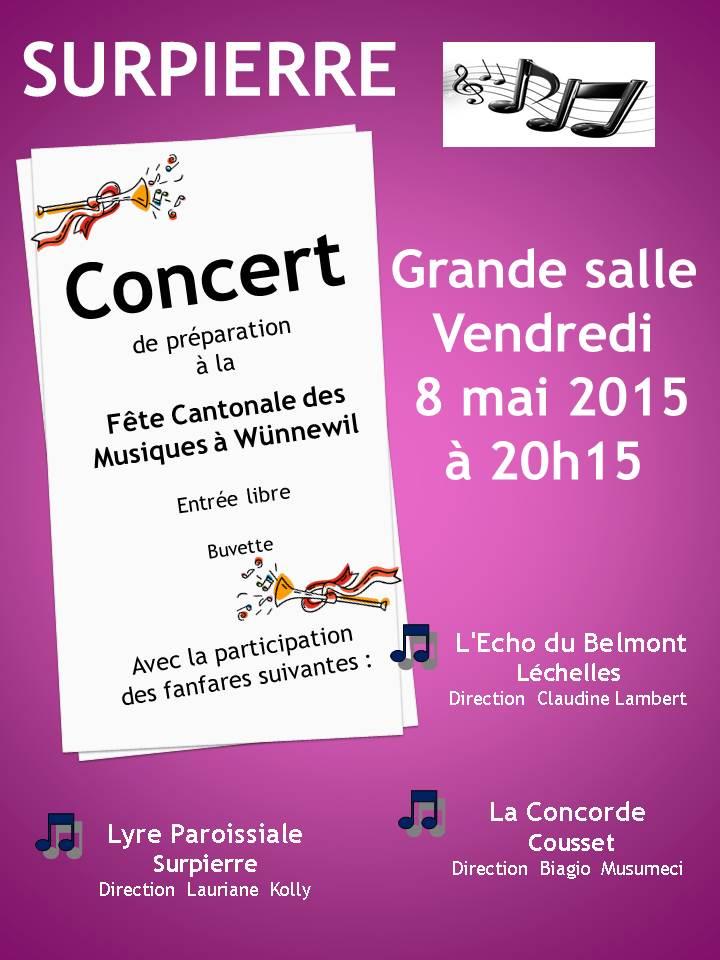 Concert préparation 8 mai
