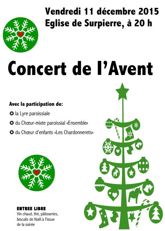 Affiche concert Avant 2015 A4